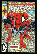 Todd McFarlane Signed Spider-Man 1990 Torment #1 Comic Book Green Cover PSA/DNA