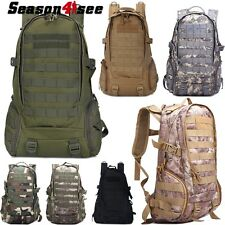 Tactical Military Molle Shoulder Bag Camping Hiking Travel Hunting Backpack