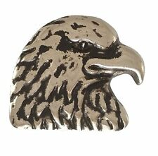 "5240-SN 1""  Antique Nickel Eagle Head Decorative Snap Buttons"