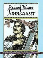 Tannhauser in Full Score by Edward Ed. Wagner Paperback Book (English)