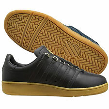 MENS  Classic Vintage K Swiss Casual Retro Leather Trainers Shoes 6-12