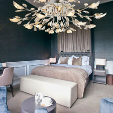European Transparent LED Light Metal & Cystal Chandelier/Droplight/Hanging Lamp