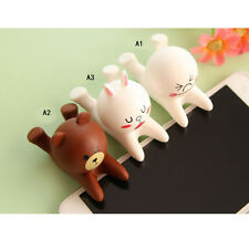 Cute Cartoon Doll Cell Phone Desk Stand Holder For iPhone Samsung Tablet FHRG