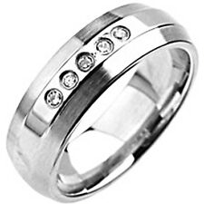 SPIKES 316L Stainless Steel Gem Ring