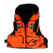 Detachable Fishing Vest PFD Buoyancy Aid Life Jacket with Multi-pockets L/XL/XXL
