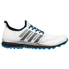 NEW MEN'S ADIDAS CLIMACOOL GOLF SHOES WHITE/GREY/BLUE Q44598 - PICK A SIZE