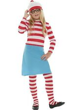 SALE! Kids Wheres Wally? Wenda Girls Book Week Fancy Dress Costume Party Outfit