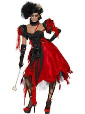 Adult Evil Queen Of Hearts Ladies Halloween Party Fancy Dress Costume Outfit