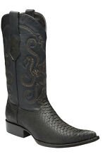 Python Western Cowboy Boot made by Cuadra Boots