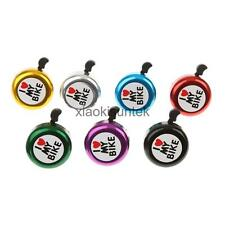 Kids Adult Bike Bicycle Boys Girls Cycling Bell Ring Sound Blue Red Black Purple