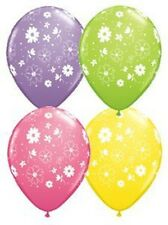 """11"""" Daisies and Dots Spring Assortment Latex Balloons"""