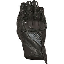 Weise Remus Black Motorcycle Motorbike Full Grain Leather Gloves   All Sizes