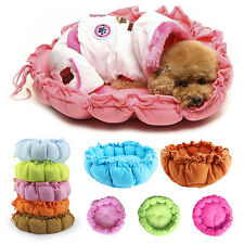Small Pumpkin Pet Dog Puppy Cat Soft Warm Cozy Bed House Nesting Mat Pad Cushion