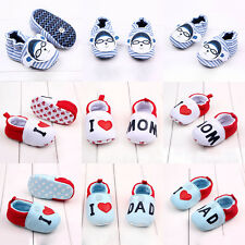 Infant Toddler Baby Boy Girl Soft Sole Crib Shoes Socks Newborn Prewalker