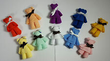 Baby Shower Party Favor/Gift - Wash Cloth Bears - Multiple Colors Available