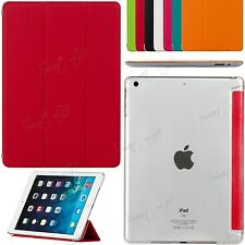 Slim Folding Book Leather Stand Case Cover For iPad 6/5/4/3/2 Mini Samsung Tab