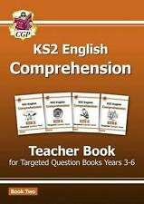 New KS2 English Targeted Comprehension: Teacher Book 2, Year by Cgp Books
