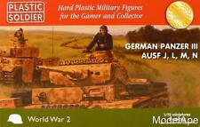 PLASTIC SOLDIER COMPANY 72nd Scale (German Panzer III AUSF J, L, M, N )