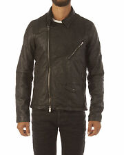 WLG BY GIORGIO BRATO kiodo agnello bimateriale Light jackets fall/winter black