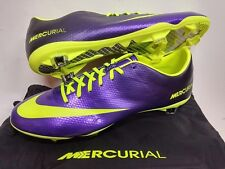 NIKE MERCURIAL VAPOR IX FG ACC FOOTBALL SOCCER BOOTS CLEATS PURPLE 570