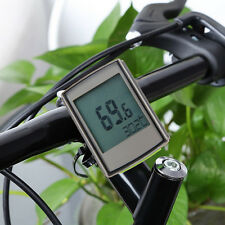 Wireless LCD Bicycle Computer Speedometer Odometer+Cadence+Heart Rate Monitor