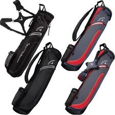 Callaway 2017 Hyper-Lite 1 Pencil Bag Mens Sunday Golf Carry Bag-3 Way Top