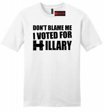 Dont Blame Me I Voted Hillary Mens SFT T Shirt Elections Political Anti Trump Z2