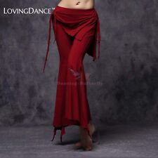 Cotton Belly Dance Pants Trousers Package Hip Full Length Size L Free Shipping