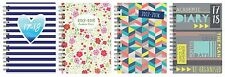 2017 2018 A5 Week to View Spiral Bound Academic Student Fashion Diary Planne3899