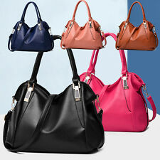 Fashion Women PU Leather Satchel Handbag Crossbody Shoulder Bag Mensenger Tote
