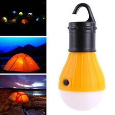 Outdoor Hanging 3 LED Camping Hiking Tent Light Bulb Fishing Torch Lantern Lamp