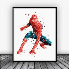 Spiderman Art Print Poster 2