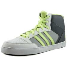 Adidas Hoops Vulc Mid   Round Toe Leather  Basketball Shoe NWOB