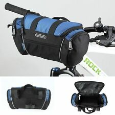 Black Release Bike Front Basket Bicycle Pannier Cycling Bag Handlebar Pannier