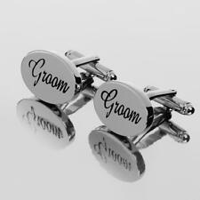 Wedding Mens Shirt Cufflinks Oval Silver Cuff Links Accessories jewelry Gifts