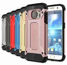 Hybrid Armor Dual-layer Dustproof Protective Cover Case for Samsung Accessories