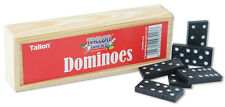 28PC DOMINOES GAME PLAY SET WOODEN BOX TRADITIONAL KIDS PARTY BAG FILLER 7018