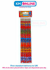 Super Heroes Pencils with Eraser Kids Birthday Party Loot Bag Filler 150-183