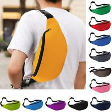Waterproof Running Money Belt Bum Bag Waist Pouch Fanny Pack Hiking Zip Wallet