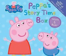 Peppa Pig: Peppa's Storytime Box -NEW  with 6 softcover books!