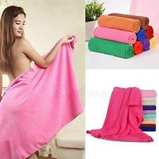LARGE BATH SHEET BATHROOM BEACH TOWELS GYM Travel Swimming Drying Washcloths