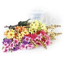 1 Bunch Artificial Fake Daisy Flower Bouquet Home Wedding Party Table Decor
