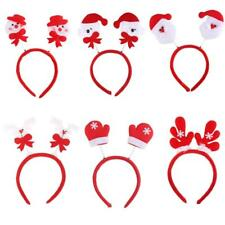 Christmas New Year Holiday Headband Hair Hoop Hat Fancy Party Costume Kids