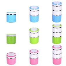 Thermal Insulated Bento Stainless Steel Lunch Box Picnic Food Container 3 Colors