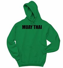 Muay Thai Sweatshirt MMA Gym Workout Fighter Holiday Gift Hoodie Sweater