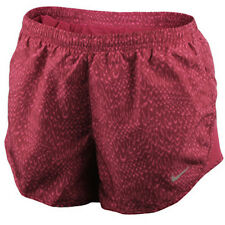 Nike Dry Tempo Womens Running Shorts Noble Red Dri-Fit Msrp $45.00 All Sizes NWT