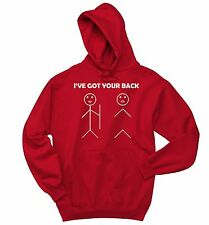 I've Got Your Back Stick Figure Funny Sweatshirt Cute Holiday Gift Hoodie