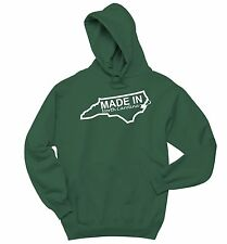 Made In North Carolina Sweatshirt Funny Home State Pride Hoodie