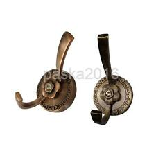 Metal Flower Wall Hook Bag Clothes Hat Coat Hook Bathroom Towel Robe Hanger