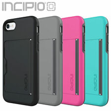 Incipio iPhone 7 Case Stowaway Credit Card ID Kickstand Hard Shell Cover